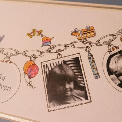 Lot 150: New MY CHILDREN Handpainted Photo Frames x 2
