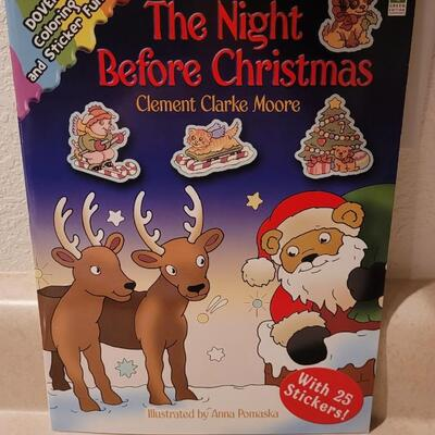 Lot 169: New Coloring Books Holiday Themed