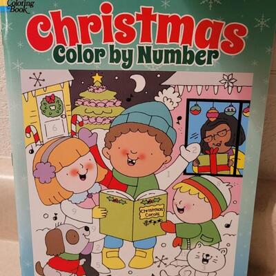 Lot 170: Assorted NEW Coloring Books Holiday Theme