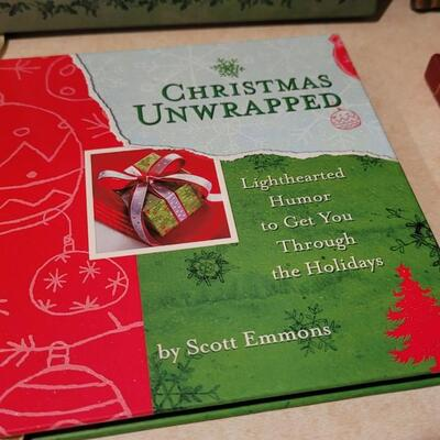 Lot 175: Assorted NEW Hallmark Christmas Themed Books