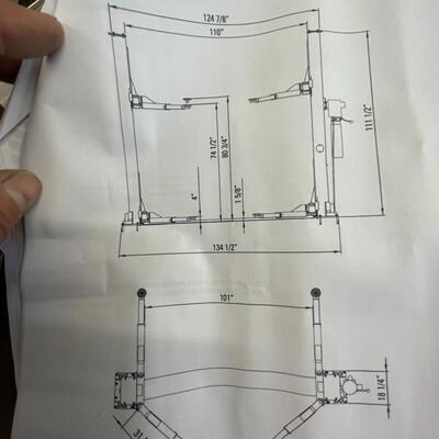 799-Atlas Car Lift Model: 9KBP ( SEE DETAILS)