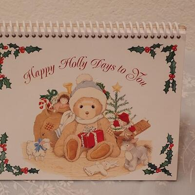 Lot 202: Christmas Notecards, Pens, Notepads and Teddy Bear Deco