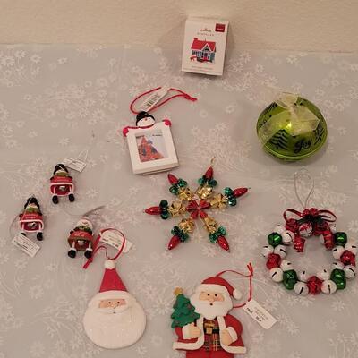Lot 203: Christmas Ornaments Lot