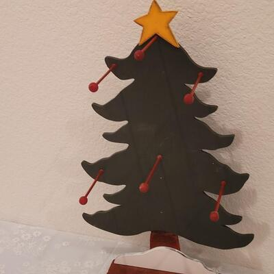 Lot 213: Ornament Hangers and Tree