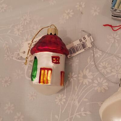 Lot 214: Christmas Ornament lot