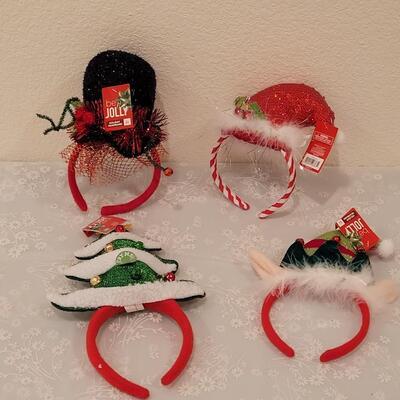 Lot 218: Christmas Headbands