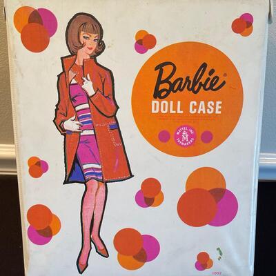 #3 Vintage Barbie Doll, case and clothing 1961 Brunette Bubble Cut
