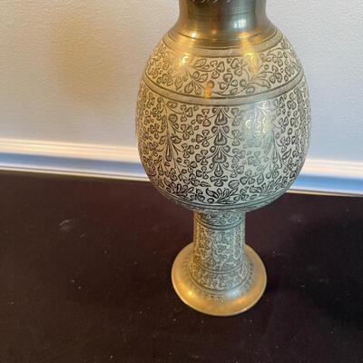 #11 Vintage, Made in India, Brass Vase
