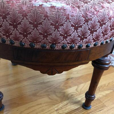 Lot 4 - Spring Bottom Parlor Chair LOCAL PICK UP ONLY
