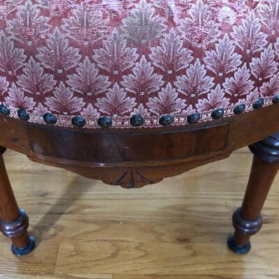 Lot 5 - Spring Bottom Parlor Chair LOCAL PICK UP ONLY