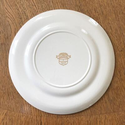 Lot 10 - Allied Nations Commemorative Plate Admiral Leahy