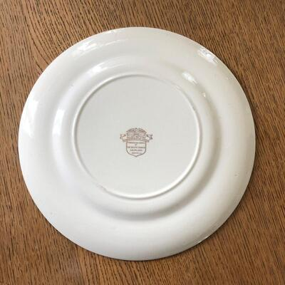 Lot 11 - Allied Nations Commemorative Plate Admiral Leahy