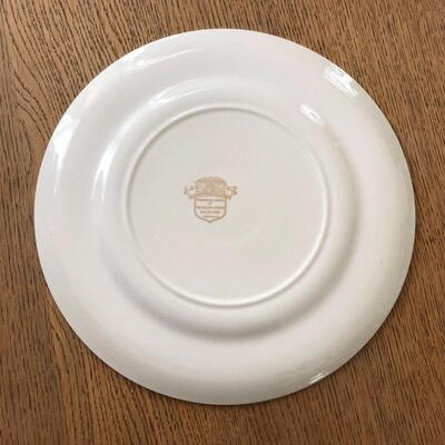 Lot 13 - Allied Nations Commemorative Plate Admiral Nimitz