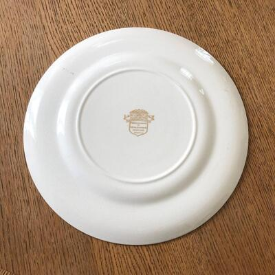 Lot 17 - Allied Nations Commemorative Plate General Marshall