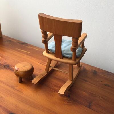 Lot 24 - Vintage Strombecker Rocking Chair