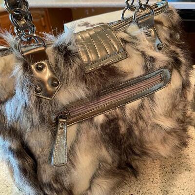 Original by Sharif NWT fur purse 😀