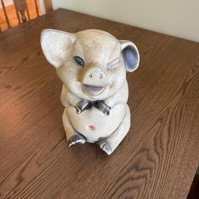 Ceramic antique pig / piggy bank