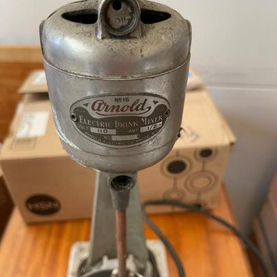 Antique Arnold #15 Electric drink mixer