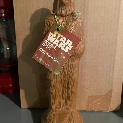 Star Wars Chewbacca bubble bath