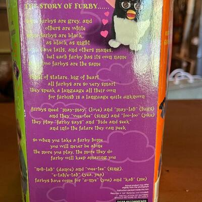 Furby Model 70-800 new old stock