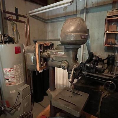 Vintage Delta Homecraft drill press