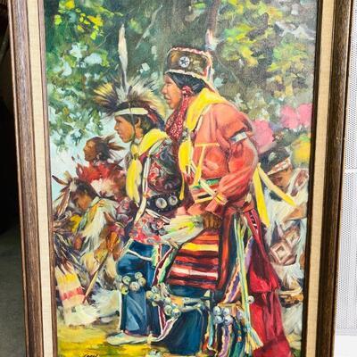 Lot 7  ORIGINAL Oil on Canvas