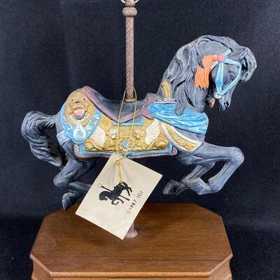 Philadelphia Toboggan Company Carousel Horse Reproduction Figurine