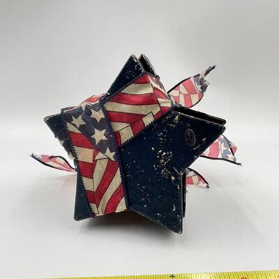 STACKED STAR BOX PATRIOTIC DECOR