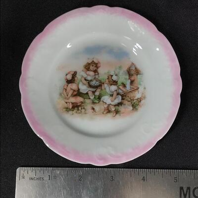 Antique 18-Piece Children's China Tea Set Vohenstrauss Johann Seltmann Germany