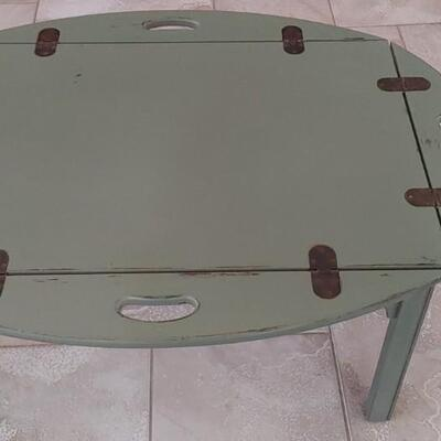 #6 Hand Painted Vintage Butlers Tray