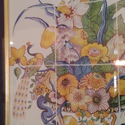 #7 Gorgeous Oriental Peacock Framed Prints
