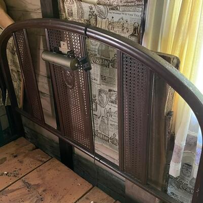Antique metal bed / Foot, head and side rails 1930's
