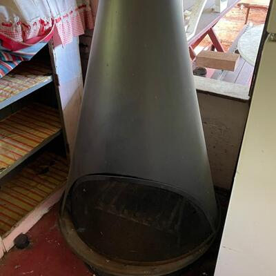 MCM Metal Cone Fire Place