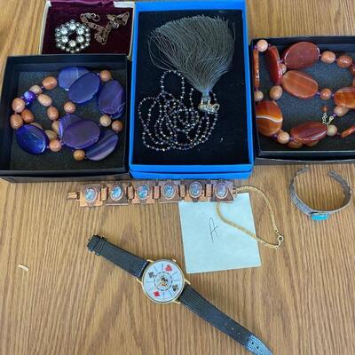 (A) Jewelry Lot
