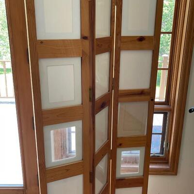 Room divider / 3 panel