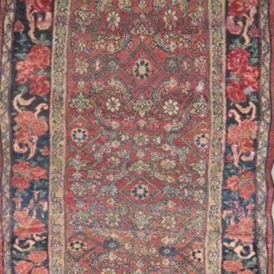 Persian Hamedan Vintage Persian Rug 10'4