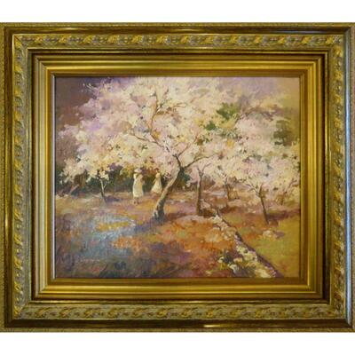 Antique Spanish Oil Painting by Pablo Capilla 34