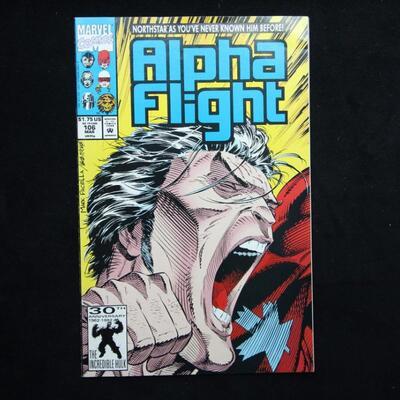 Alpha Flight #106 (1992,Marvel)  7.5 VF-