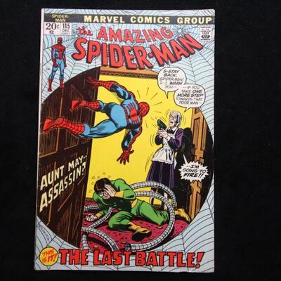 Amazing Spider-Man #115