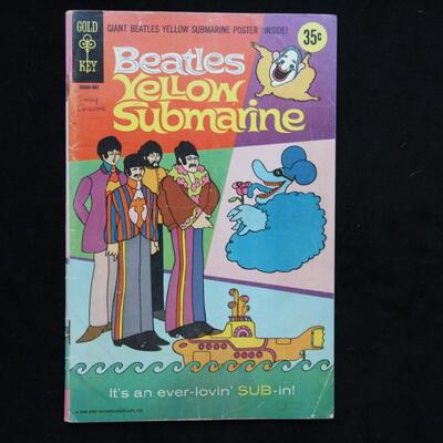 Beatles: Yellow Submarine #1 (1968,Gold Key)  4.0 VG