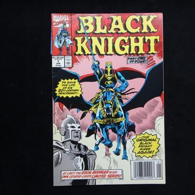Black Knight #1 (1990,Marvel)  8.0 VF