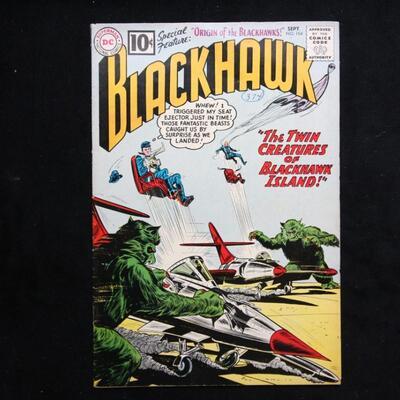 BlackHawk #164 (1961,DC)  7.0 FN/VF