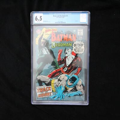 Brave and The Bold #79 (1968,DC) CGC 6.5 FN+