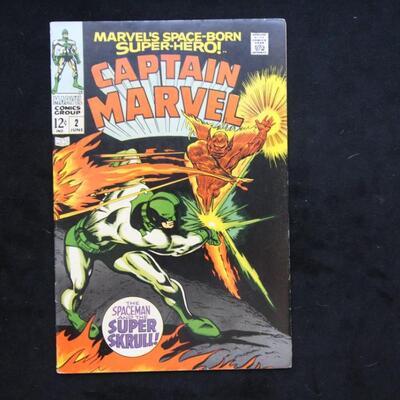 Captain Marvel  #2 (1968,Marvel)  6.5 FN+