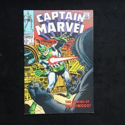 Captain Marvel #7 (1968,Marvel)  8.0 VF