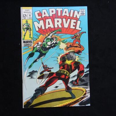 Captain Marvel #9 (1969,Marvel)  9.0 VF/NM