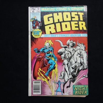 Ghost Rider #50 (1980,Marvel)  5.0 VG/FN