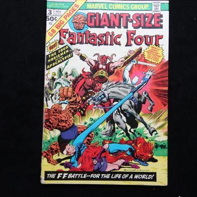 Giant-Size Fantastic Four #3