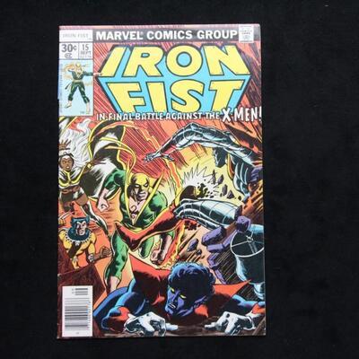 Iron Fist  #15 (1977,Marvel)  7.0 FN/VF