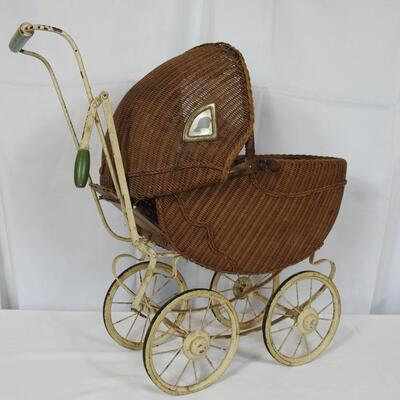 Antique Doll baby buggy